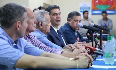 Capitanich anunció aumento para los trabajadores municipales: 20% para el primer semestre