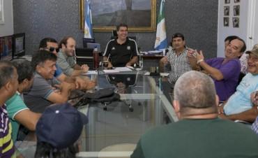 Capitanich recibió a integrantes de la Oficina Municipal de Veteranos de Malvinas