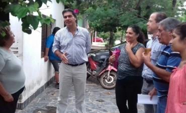 Capitanich, de recorrida y compromiso con los vecinos del Bº Asunción