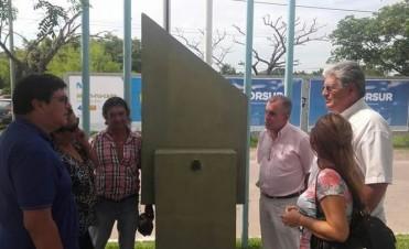 RESTITUIRÁN EN RESISTENCIA EL BUSTO DE ALFONSIN ESTE VIERNES