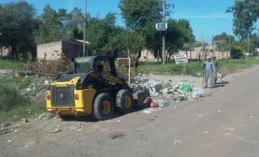 El Municipio continúa con los operativos para erradicar minibasurales