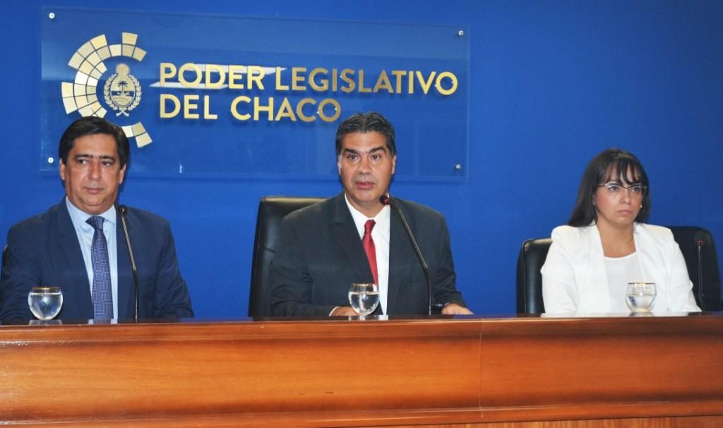 Capitanich detalló resultados de gestión y remarcó los desafíos para convertir a Resistencia en un lugar de encuentro