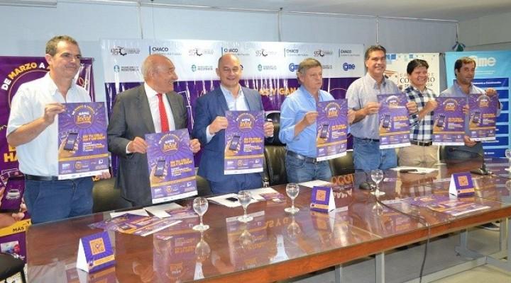 Capitanich acompañó el lanzamiento de la promoción comercial Ganá de Local