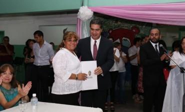 Capitanich acompañó el inicio del ciclo lectivo de la EEP Nº 518 Comandante Andresito