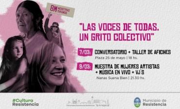 """""""Las voces de todas, un grito colectivo"""", la propuesta de la Subsecretaría de Cultura e Identidad Local para el 8M"""