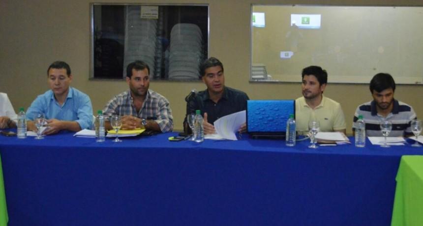 Capitanich encabezó la primera reunión del año  del Consejo Municipal de Seguridad Vial