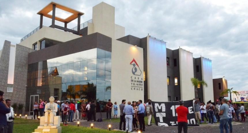 Capitanich destacó el esfuerzo solidario de la comunidad en la inauguración de la segunda etapa de la Casa Garrahan Chaco