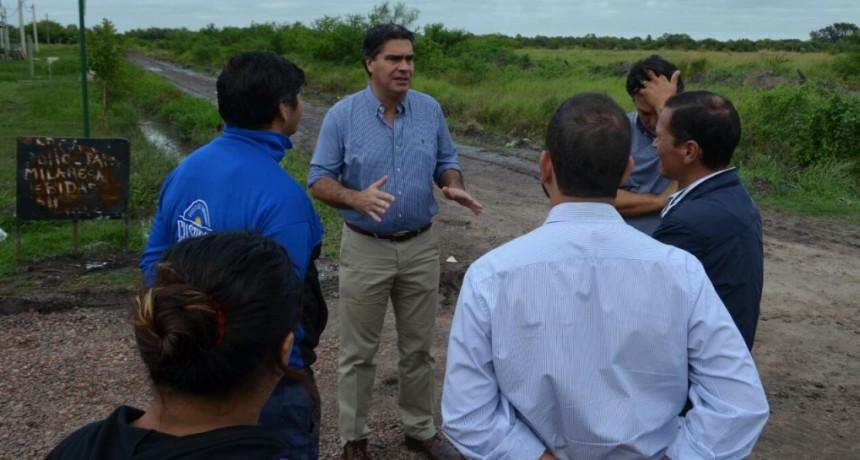El Municipio realizó trabajos de intervención integral en zonas afectadas por las lluvias