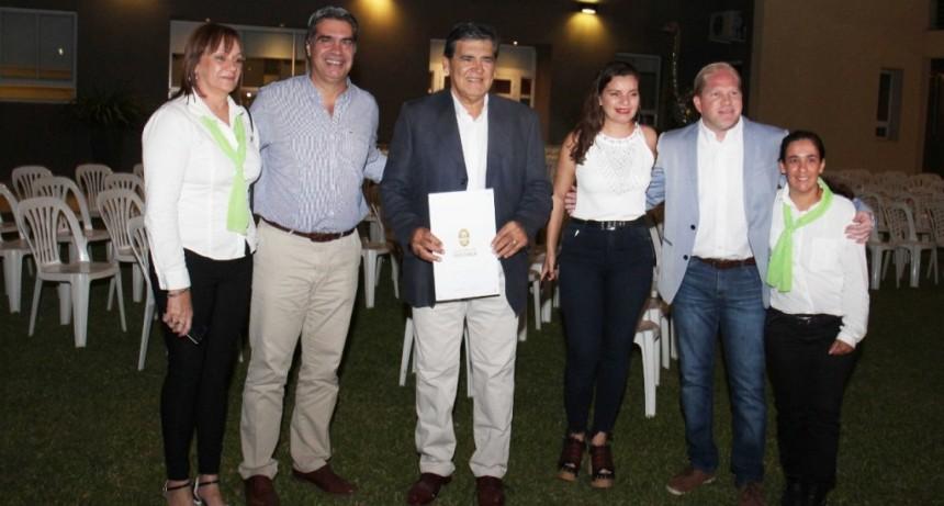 Capitanich participó de la celebración por 15º aniversario de la Fundación Ciudad Limpia