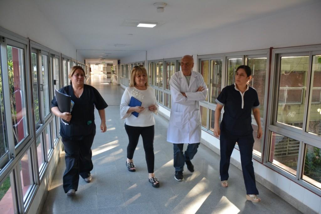 Con obras e insumos el Hospital Perrando continúa su proceso de recuperación