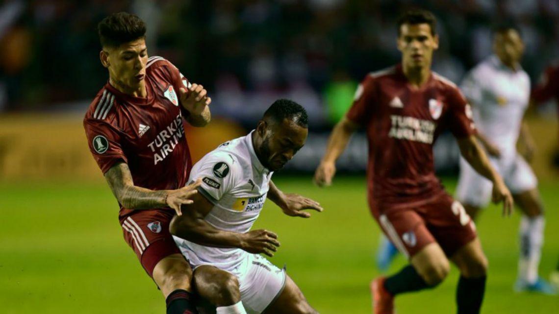 River sufrió una dura derrota en Quito