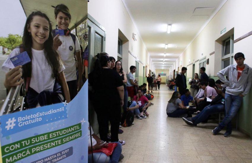 Comenzó la campaña de SUBE Estudiantil en la UNNE