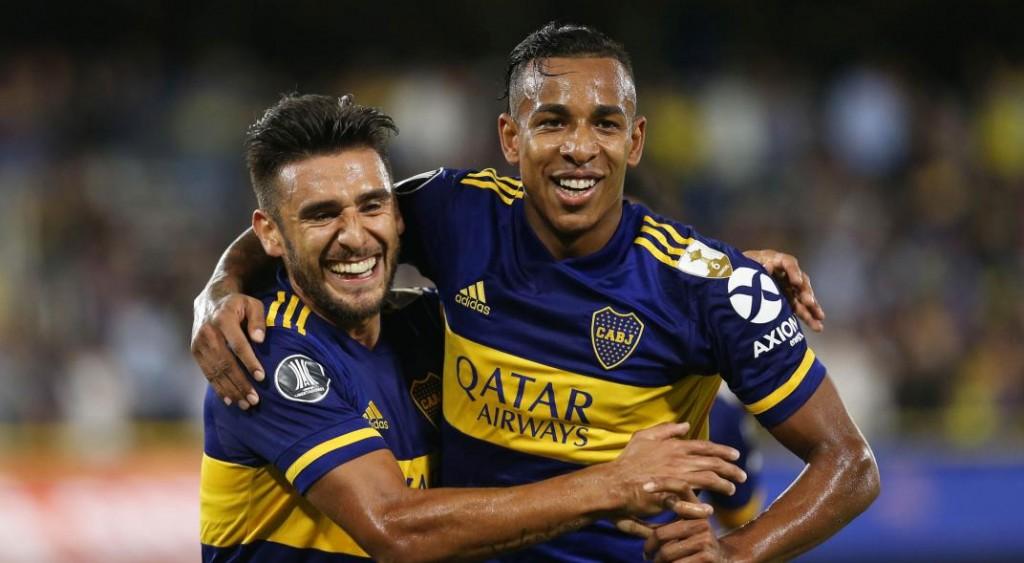 Boca goleó a Independiente de Medellín y sigue con la buena racha