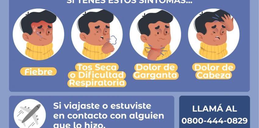 Salud confirmó dos nuevos casos de Coronavirus en Resistencia