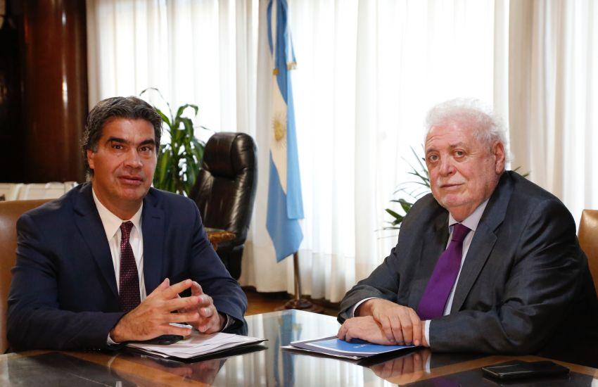 Capitanich gestionó ante Ginés González García fondos nacionales para la prevención del Coronavirus