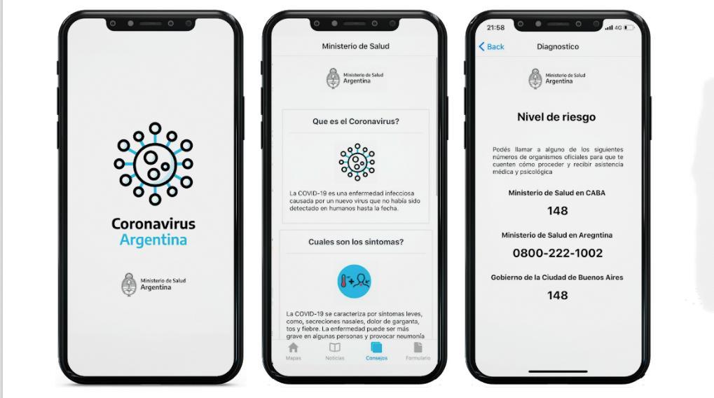 Lanzaron una app oficial para hacerse un autotest de coronavirus