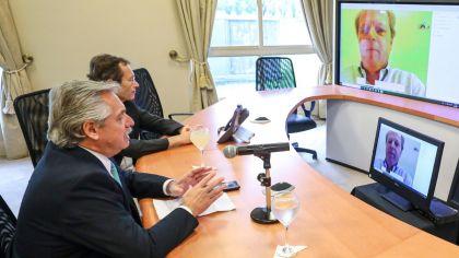 Empezó la charla de Alberto Fernández con gobernadores: discuten alternativas para la cuarentena