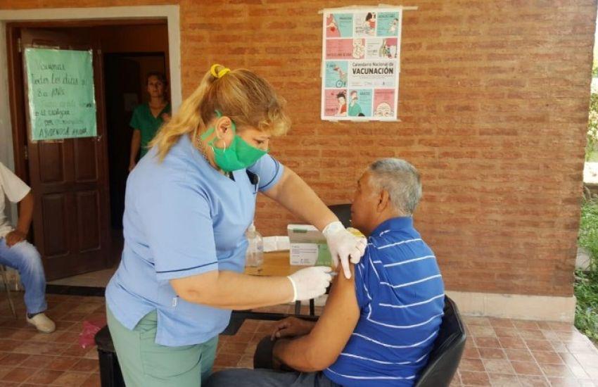 Comenzó la Campaña Antigripal 2020 en los 300 Centros Vacunatorios del Chaco