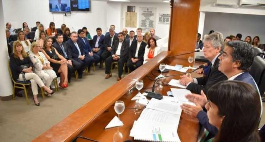 Jorge Capitanich abrió las sesiones ordinarias en la Legislatura del Chaco