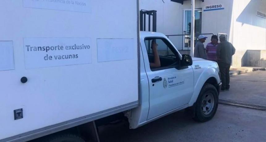 Salud continúa la entrega de vacunas para los 47 Centros del Gran Resistencia