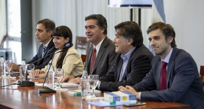 """Jorge Capitanich presentó junto a Carlos Zannini el """"Programa de Formación en Abogacía del Estado"""""""