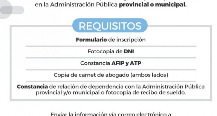 Seguridad Vial: El Gobierno convoca a abogados y abogadas de planta permanente en la administración pública