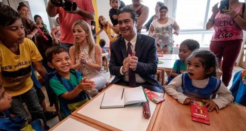 Desde Charata Capitanich llamó a universalizar la Educación en la apertura del Nivel Inicial