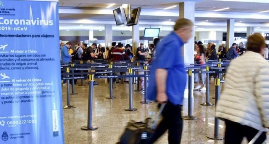 Coronavirus: restringen el ingreso de extranjeros a la Argentina