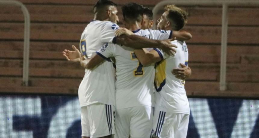Boca goleó a Godoy Cruz por la Copa Superliga
