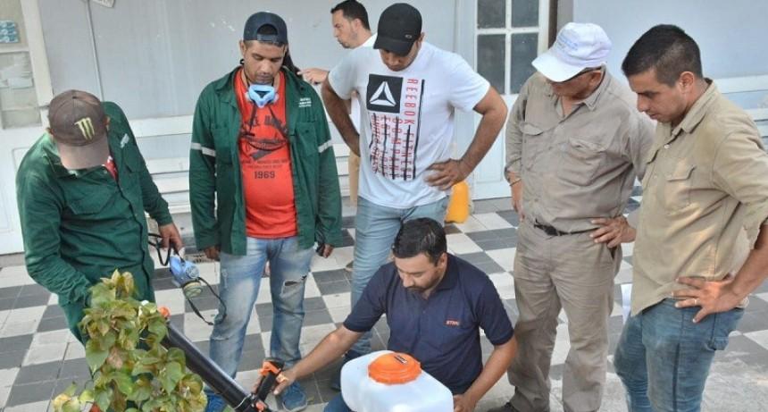 Salud refuerza acciones preventivas contra el Dengue en toda la provincia