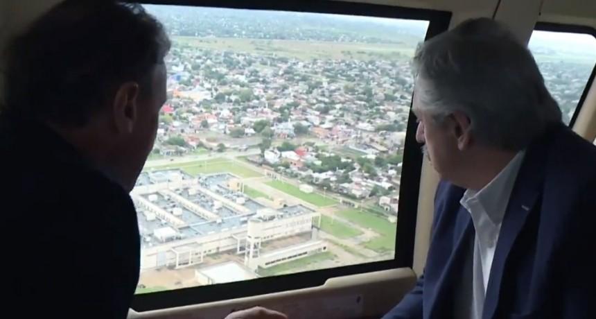 El Presidente anunció la construcción de ocho hospitales modulares de emergencia