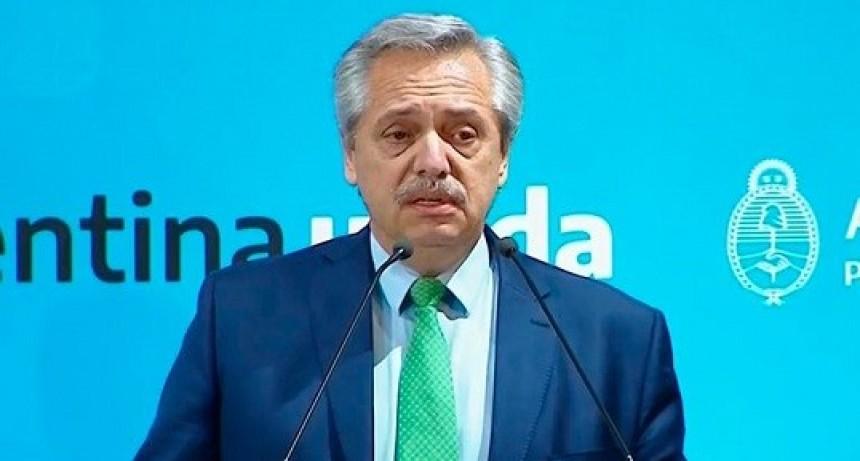 Alberto Fernández anunció una cuarentena total a partir de las 00 de este viernes