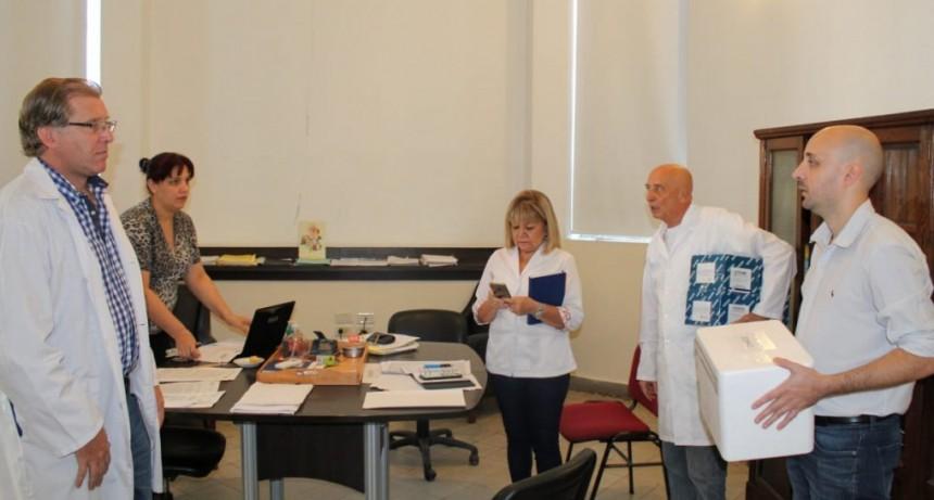 Coronavirus: llegaron los primeros 200 kits para realizar las pruebas en la provincia y agilizar los procesos