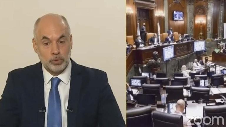 """Horacio Rodríguez Larreta abrió las sesiones con un mensaje nacional en clave electoral: """"Siempre voy a estar para terminar con la grieta"""""""