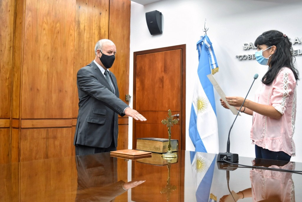 Asumió Pedro Sosa al frente de la subsecretaría de investigación e inteligencia criminal