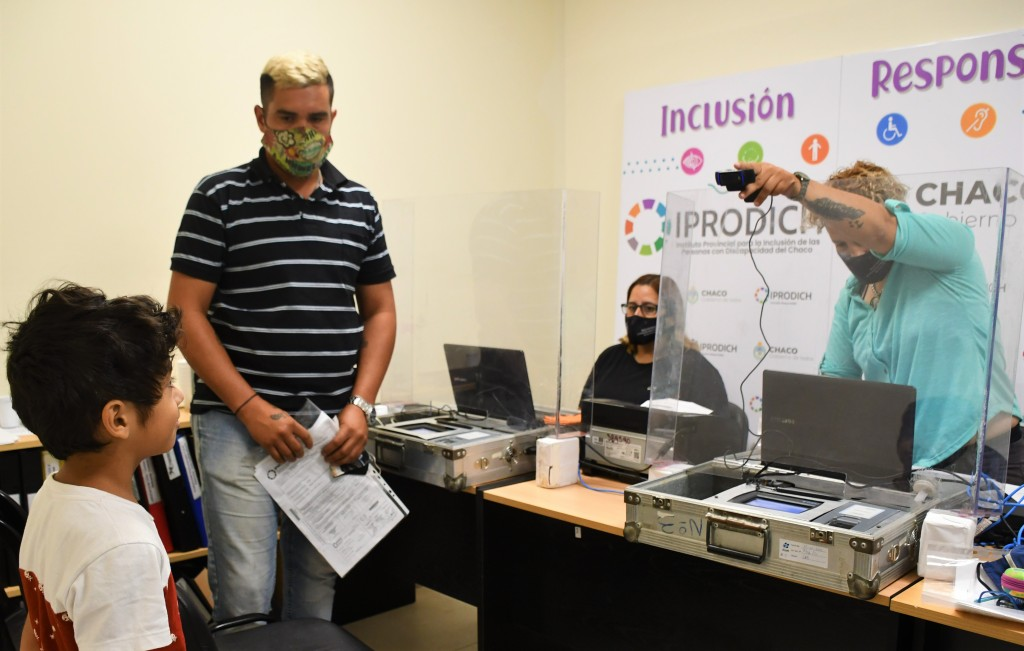 IPRODICH y Gobierno realizaron operativo gratuito de regularización de DNI para personas con discapacidad