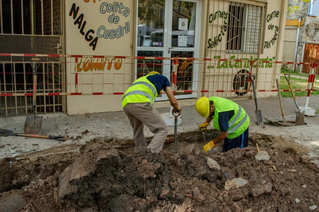 Sameep repara un colector de cloacas en los barrios españa y provincias unidas