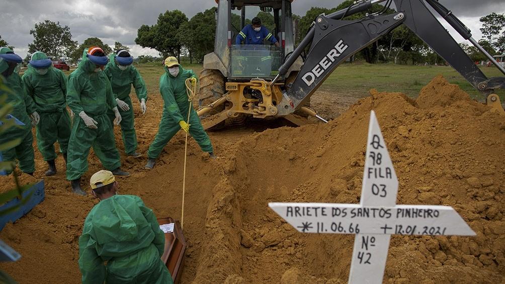 La cepa amazónica tiene capacidad de reinfectar, poder duplicado y ya está en casi todo Brasil
