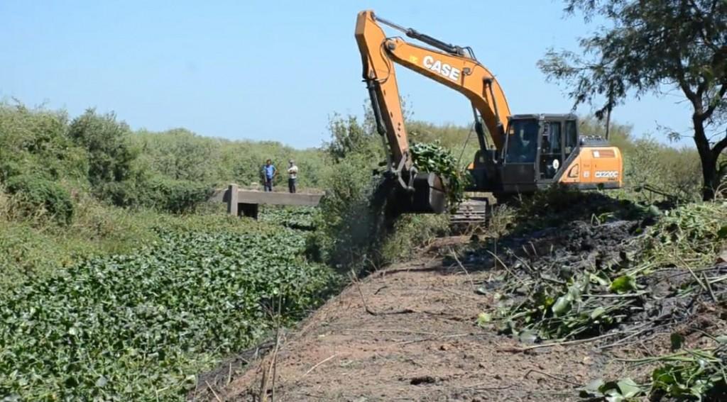 APA Y DVP continúan a buen ritmo con los trabajos en el canal Bajo Hondo II