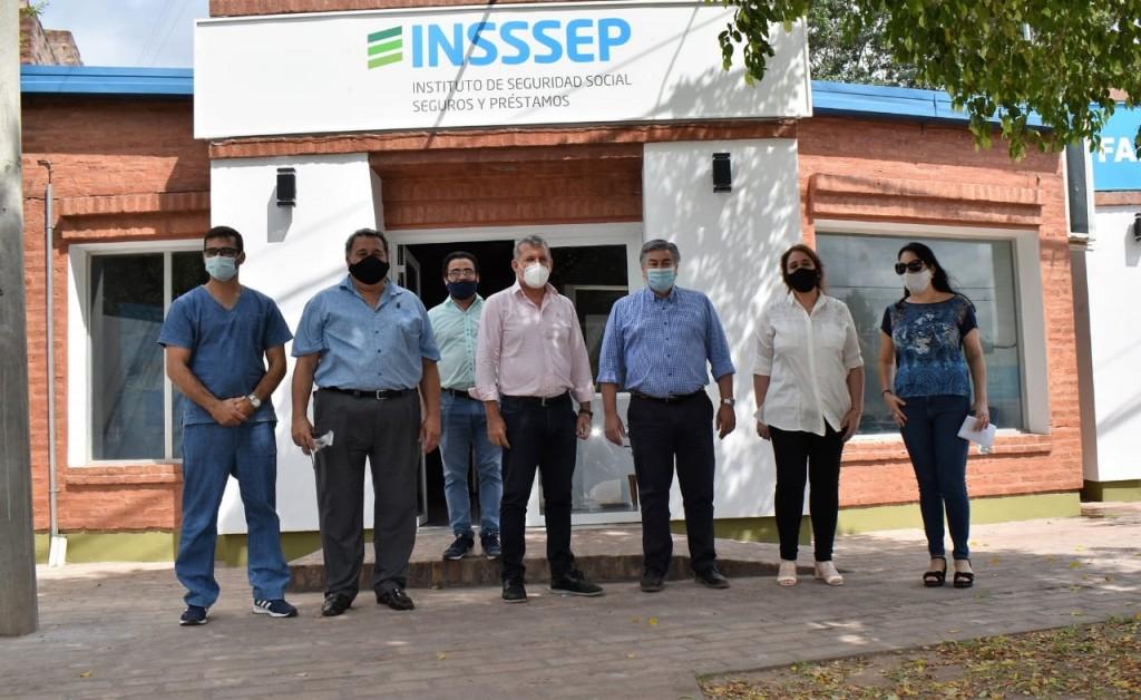 El titular de INSSSEP visitó las delegaciones del organismo en Tres Isletas y Castelli