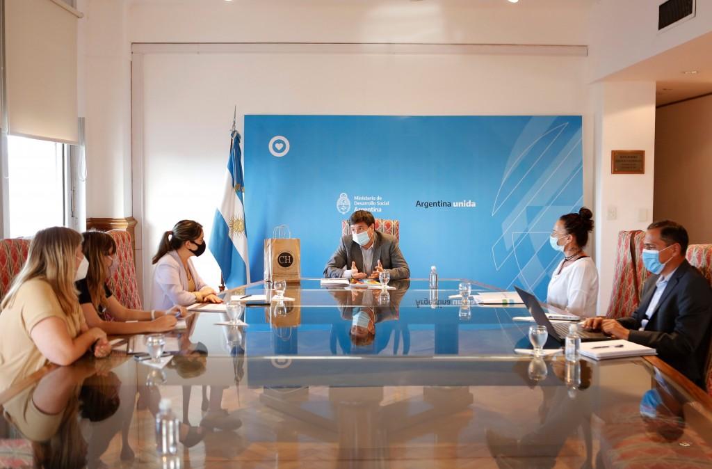 Provincia y nación desplegarán amplia agenda social en Chaco
