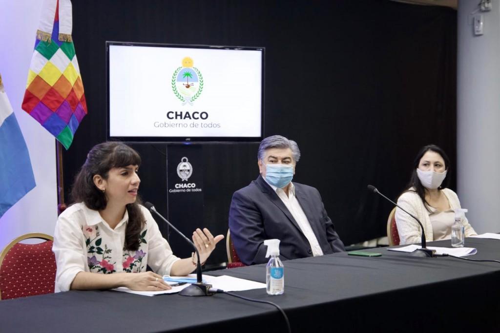 Chaco presentó el programa de protección integral de las violencias para afiliadas del INSSSEP