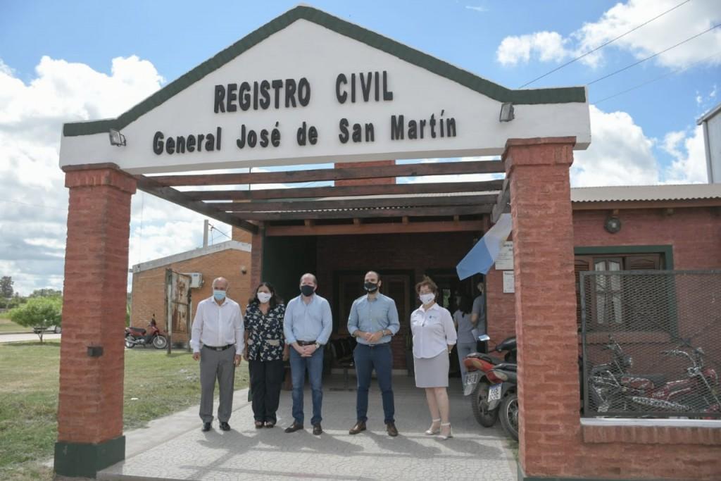 Nueva coordinadora en la delegación de trabajo y avance de obras en el registro civil
