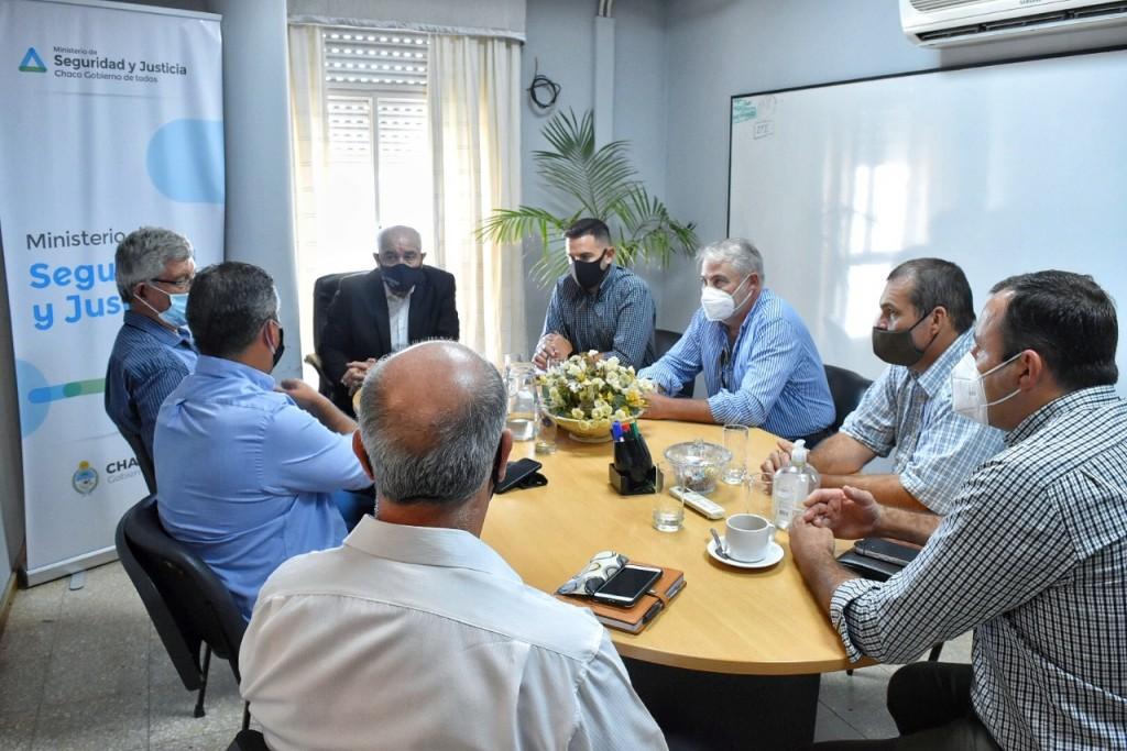 Seguridad articula la prevención de delitos rurales junto a productores y el ministerio Público Fiscal
