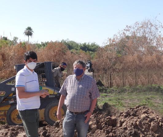 SAMEEP ejecuta la extensión de redes de agua potable en el barrio Zampa II de Resistencia