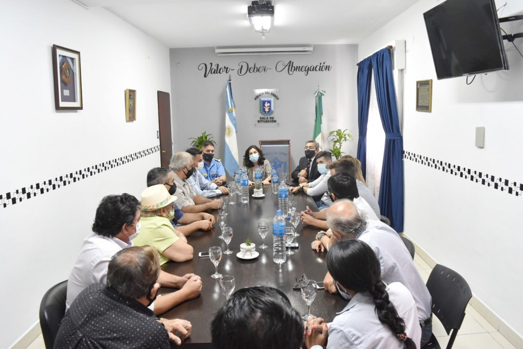 El ministerio de seguridad y justicia presentó el programa