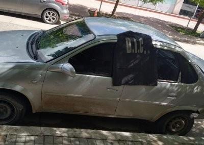 Detienen dealer cuando llevaba cocaina oculta en el automóvil