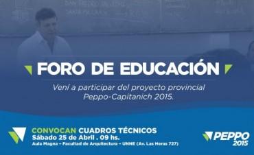 FORO DE EDUCACION