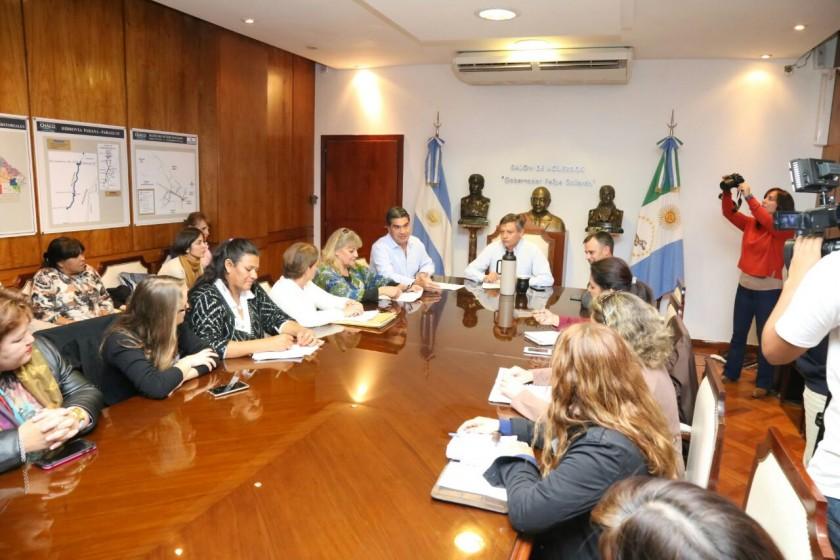 Capitanich y Peppo constituyeron una unidad operativa de organización para el 32º Encuentro Nacional de Mujeres