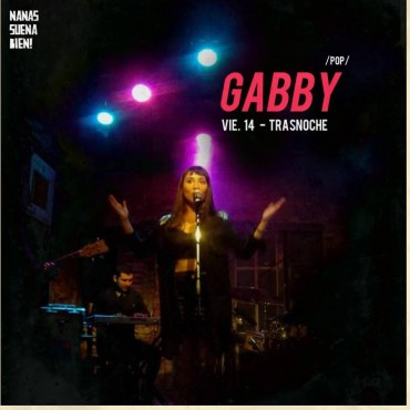 """""""Gabby Band"""" vuelve con clásicos del genero disco pop. Un show para todas las edades, para divertirse y pasarla bien."""